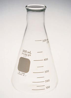 Erlenmeyer Flask | 500ml Glass