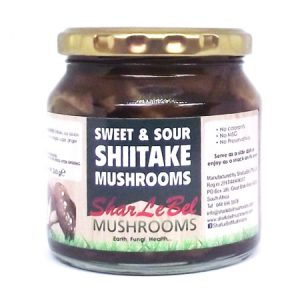 Sweet & Sour Shiitake Pickle